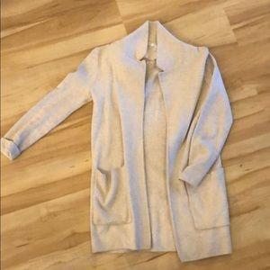 Jcrew sweater blazer sz xxs